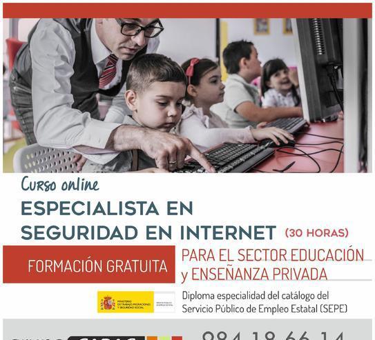 Curso online especialista en seguridad en internet