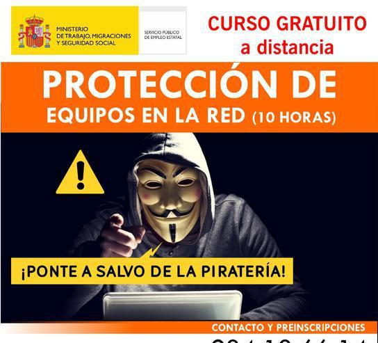 Curso online protección de equipos en la red