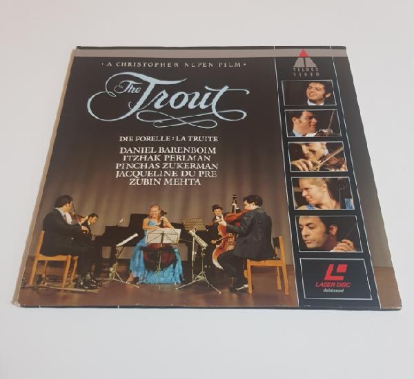 Die forelle: la truite - itzhak perlman (violin) barenboim