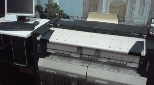 Fotocopiadora de planos digital