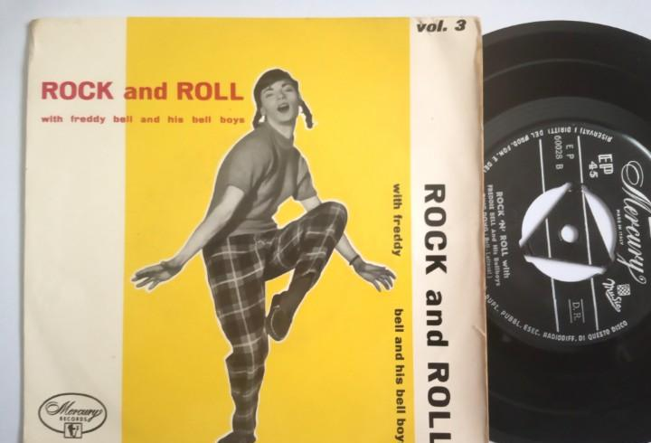 Freddy bell & his bell boys - rock and roll - ep italiano -