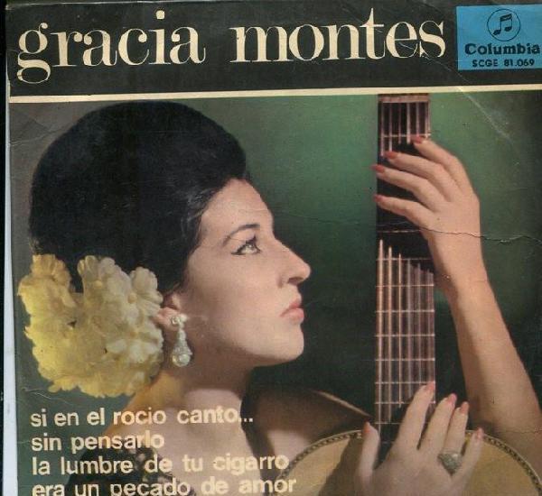 Gracia montes - si en el rocio canto...+ 3 (ep 1965)