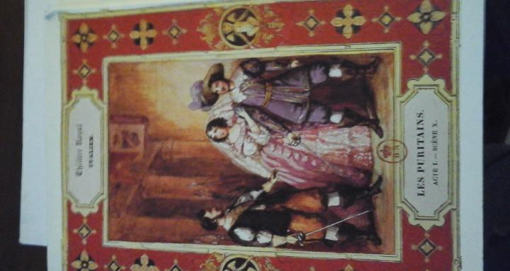 I puritani. ópera de vincenzo bellini. libreto y ensayos