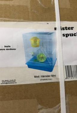Jaulas hamsters nueva con accesorios