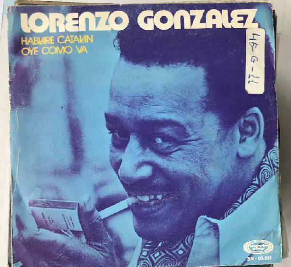 Lorenzo gonzález - hablaré catalán / oye cómo va -