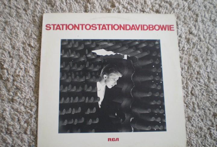 Lp. david bowie. station to station. buena conservacion