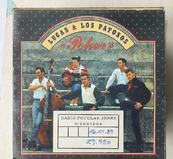 Lucas & los patosos - poker - single el cohete spain 1989