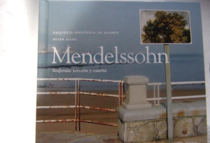 Mendelssohn sinfonias tercera y cuarta colección el pais