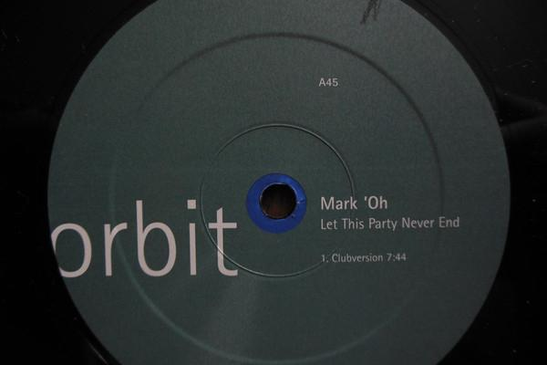 Mark 'oh_–let this party never end