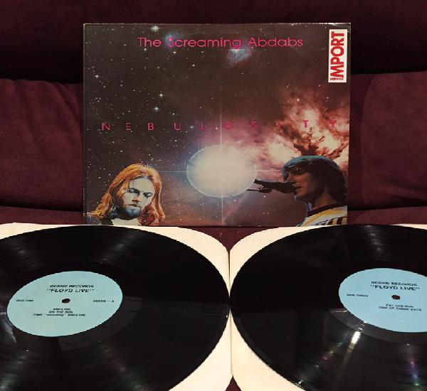 Pink floyd - the screaming abdabs: nebulosity, lp doble,