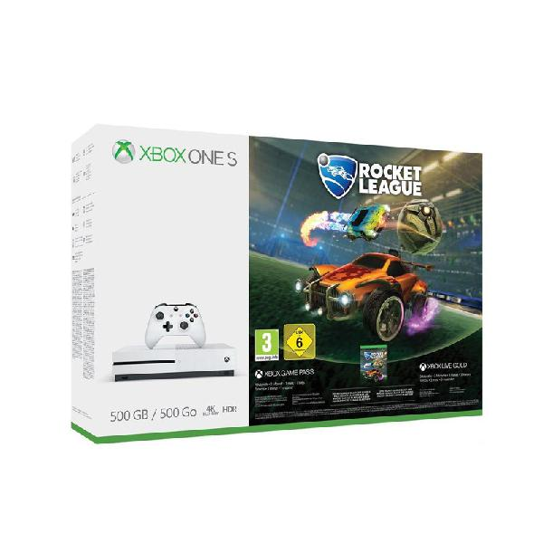 Reacondicionado: xbox one s 1 tb blanca rocket league