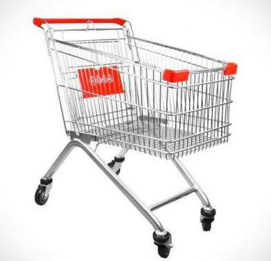 Seminuevo - carro 150l autoservicio / supermercado