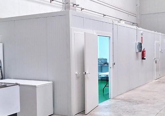 Sala manipulación completa frío