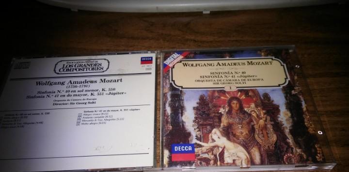 W. a. mozert - sinfonias nº 40 y 71 (orquesta cámara de