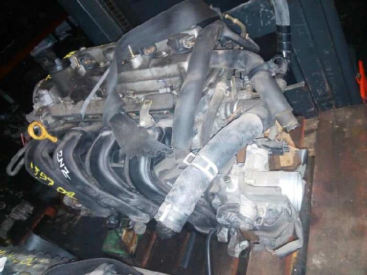 828742 motor completo toyota yaris verso 2nz