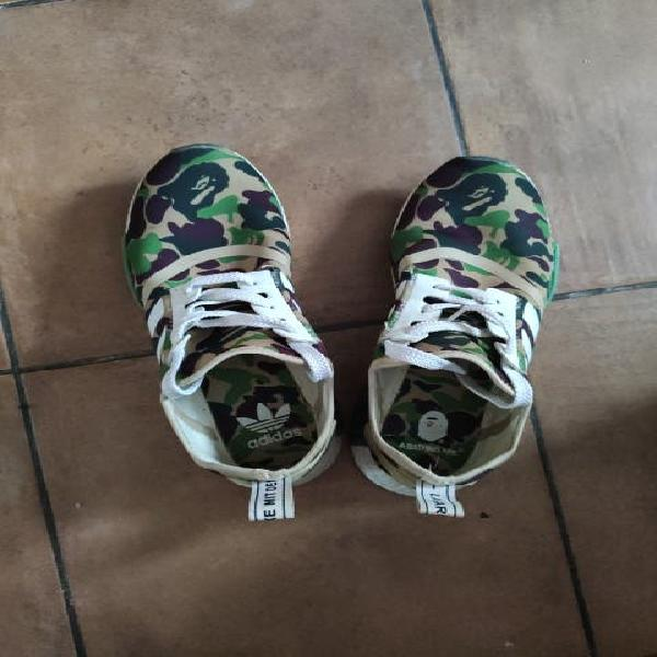 Adidas nmd x bape
