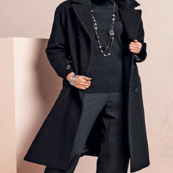 Abrigo de lana con cachemir talla 44-46 nuevo