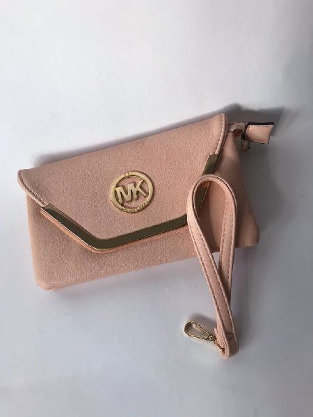 Bolso michael kors rosa clutch bagette purse