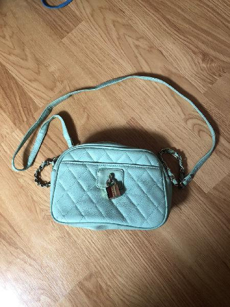 Bolso de fiesta color azul aqua