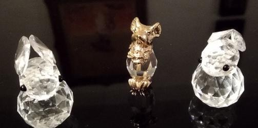 Conejos cristal swarovski