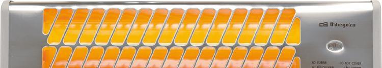 Estufa eléctrica de infrarrojos