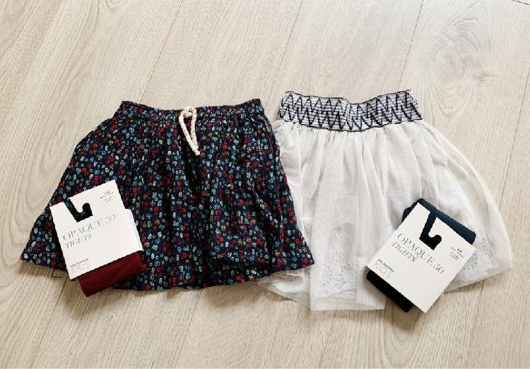Faldas y medias (5-6 años)