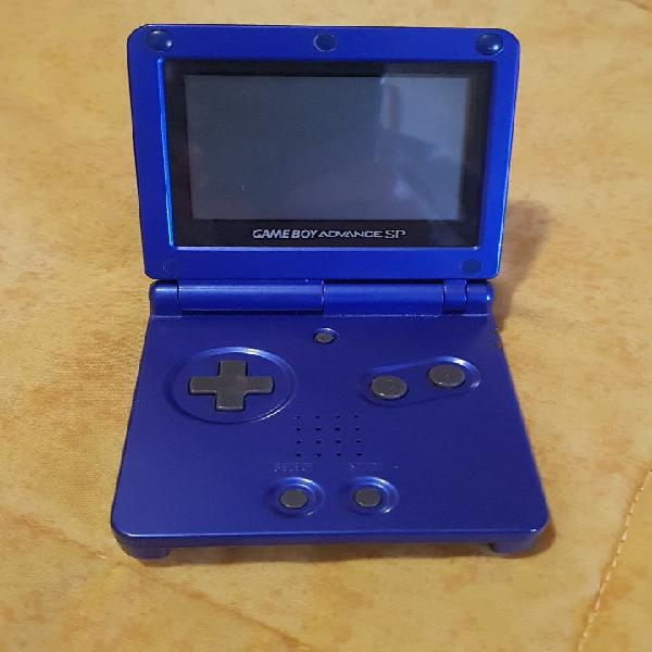 Gameboy advance sp azul