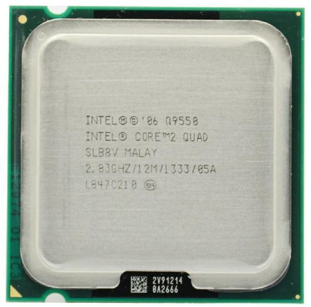 Intel core quad q9550