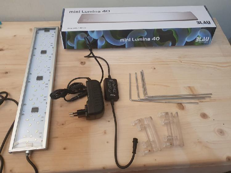 Mini lumina 40 led acuario marino