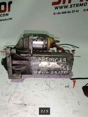 Motor de arranque r/laguna ref:d7r49