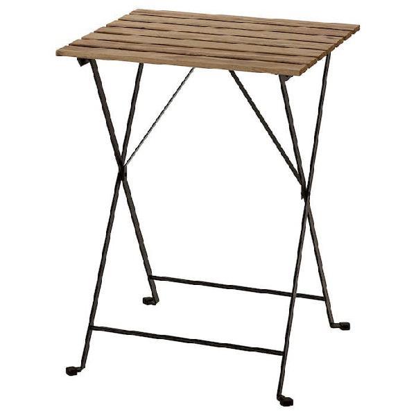 Mesa jardín plegable madera