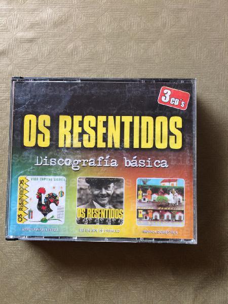 Os resentidos tres primeros discos