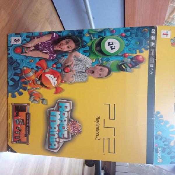 Play station 2 más tres juegos