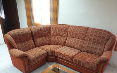 Sofa grande en l o esquinero 3x1