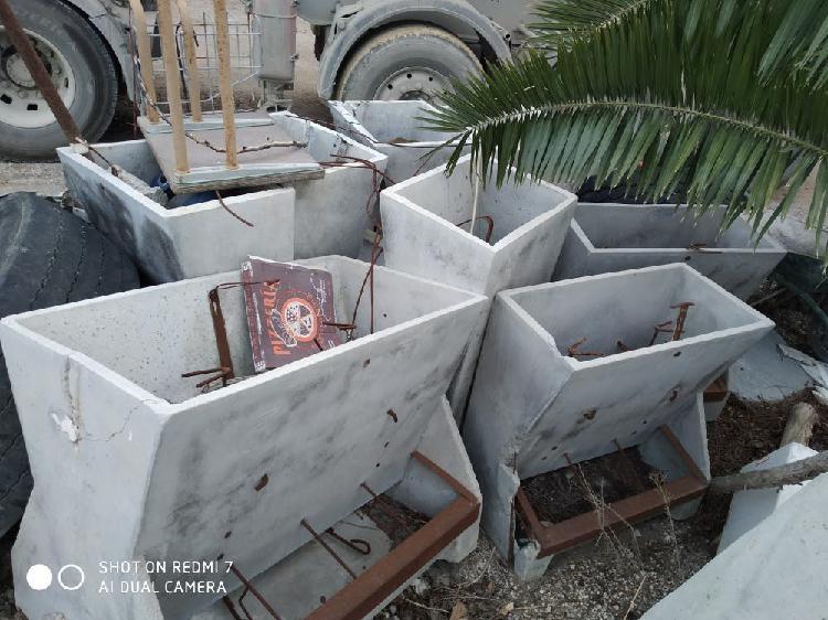 Tolvas de cemento para pienso