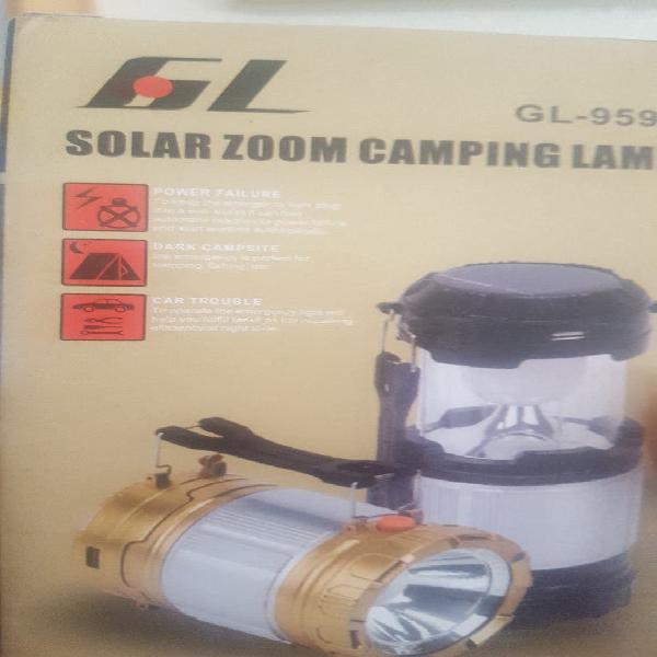 Linterna camping