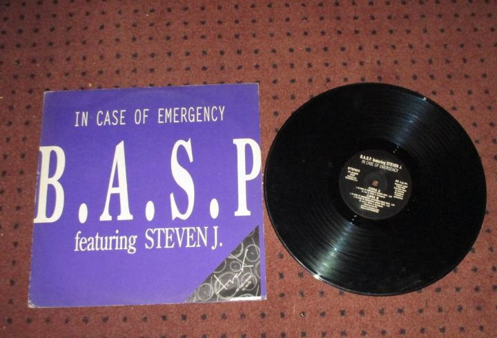 B.a.s.p. featuring steven j - in case of emergency - maxi -