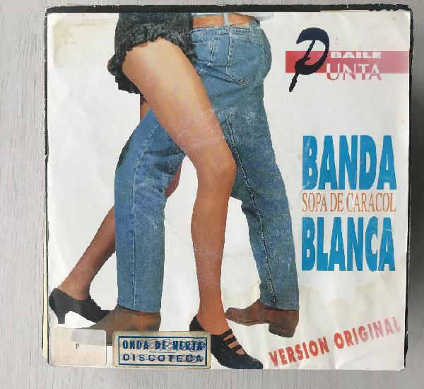 Banda blanca - sopa de caracol - single emi spain 1991 promo