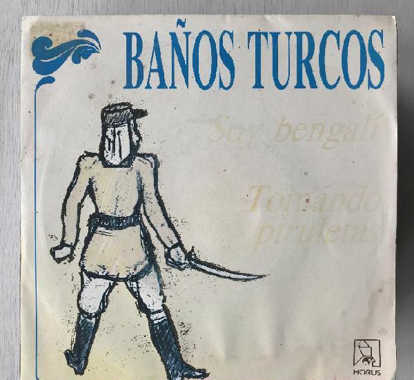 Baños turcos - soy bengalí - single horus 1989