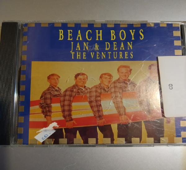 Beach boys. jan & dean. the ventures.