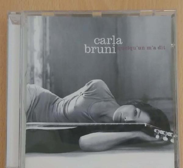 Carla bruni (quelqu'un m'a dit) cd 2002