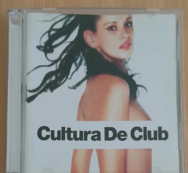 Cultura de club - ministry of sound - 2 cd's 2001