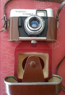 Camara fotografica voigtlander, modelo vitoret