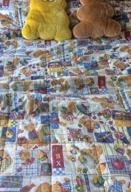 Edredón para cama de 90cm