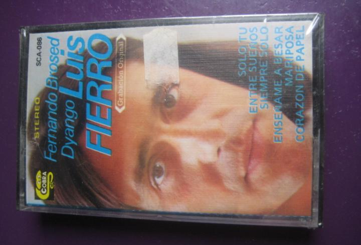 Fernando brossed + luis fierro + dyango casete cobra