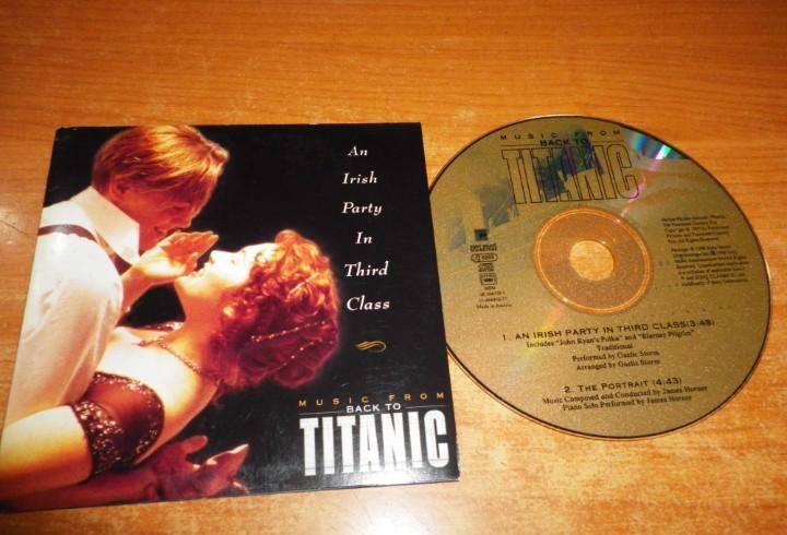 Gaelic an irish party in third class banda sonora titanic cd