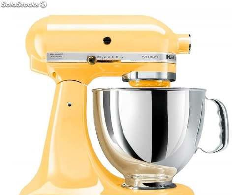 Kitchenaid artisan 5ksm175psemy amarillo 4.8 litros