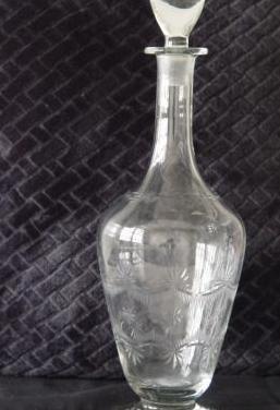 Licorera cristal tallado