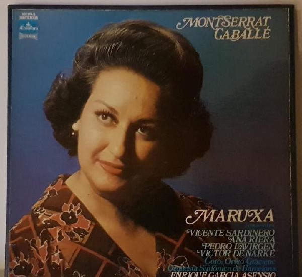 Montserrat caballé maruxa caja 2 lp + libreto
