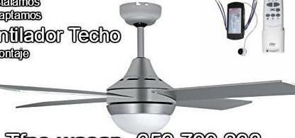 Mando a distancia ventilador techo